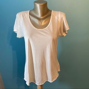 Aritzia Wilfred white t-shirt